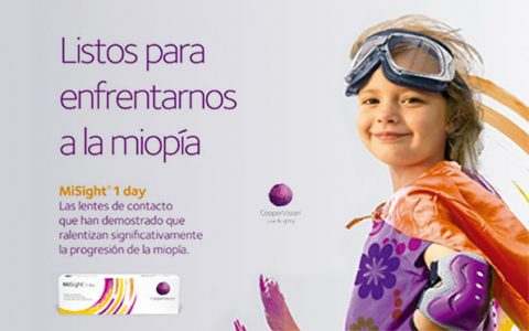 MiSight® 1 day con ActivControlR Technology