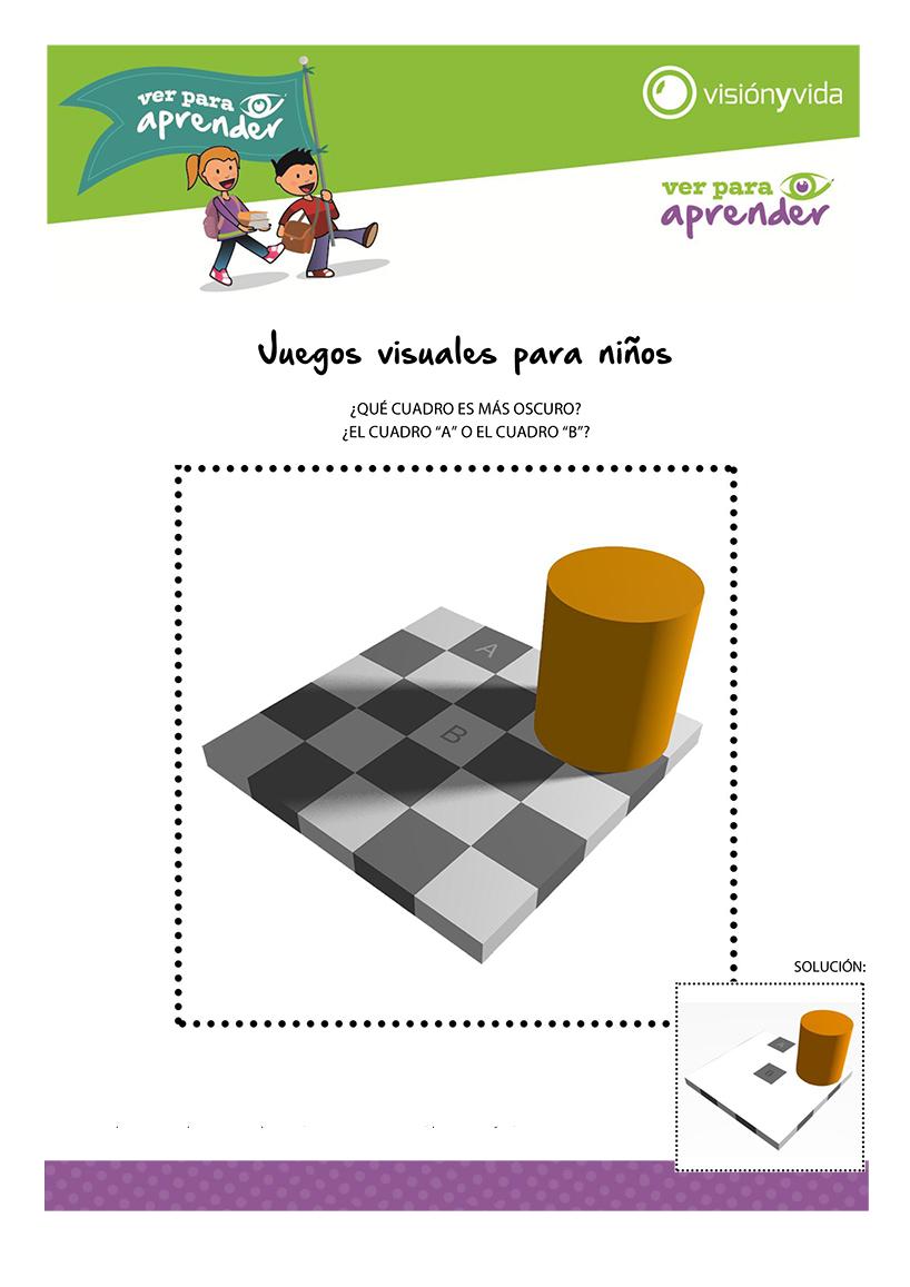 Juegos visuales para niños